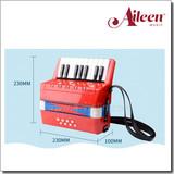17 keys 8 basses children accordion for sale (K1708)