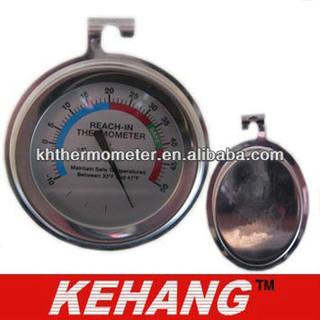 Stainless Bimetal Fridge/Freezer Thermometer