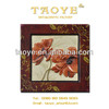 """flower design wooden picture frame for sale size 12x12"""""""