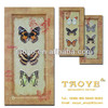 latest design cheap butterfly wooden borderless photo frame