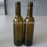 375ml amber wine glass bottle