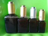essential oil amber bottles square shape with screw cap