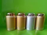 aluminum tubes screw cap for essential glass oil bottle