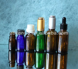 essential oil amber glass bottle
