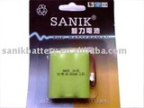 NiMH AA600mA 3.6V battery