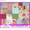 pure ramie textile / fabric , printing