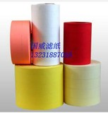 Corrugated air filter paper