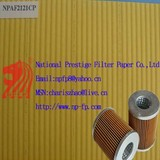 cured fuel filter paper