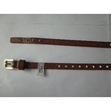 Womens' slim Leather Belt
