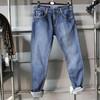 OEM wholesale 100% cotton jean mens Casual Jeans