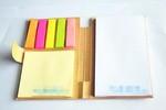 Kraft Soft Cover  Sticky Notebook