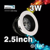 Excellent LED chip celling led down lights 3W