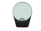 led light up wall makeup mirror with 2 suction cups