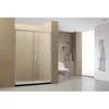 Four panels double sliding aluminium alloy shower door
