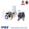 small size tubular key cam lock