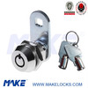 Cam Lock with 2 tubular keys