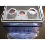 2v300ah opzs lead acid battery container with lids