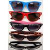 2013 wholesale color neon wayfarer sunglasses with mirror lens
