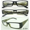 reading glasses with rhinestone/diamond/stone