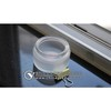 Cosmetic-bottle glass frosting powder