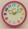 8in Lulu clock,wall and table clock.