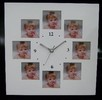 Photo frame clock;table and wall clock