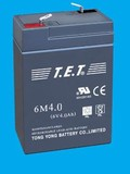 Sealed Lead-Acid Battery  6M4.0  6V