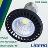 8W Aluminum LED PAR20 Lamp COB Light Source