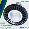 12.5W Aluminum LED PAR30 Lamp COB Light Source