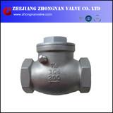 SS Threaded check valve