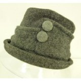 Hat With Two Bottons