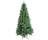 7ft cashmere needle mixed tips pre-lit tree