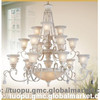 Ancient Style European resin Chandelier Shades with Hand-paint