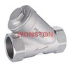 Stainless steel Y Type  Check Valve Class 200