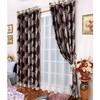Decorate window rod eyelet curtain