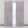 Fashional windows eyelet curtain with jacquard fabric