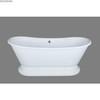 freestanding pedestal acrylic classic bathtub