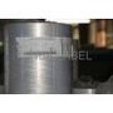 silver PET film with acrylic glue glassine line self adhesive labels