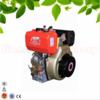 296cc displacement vertical 4stroke single cylinder air-cooled diesel engine,178F diesel engine with factory pirce