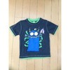 Baby Knitted T-shirt/Baby Garments/Blue-print