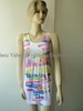Ladies Seamless Printing Summer Dress, Casual Long Dress