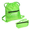 Fashion foldable shopping bag drawstring bags