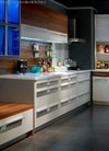 2013 new white melamine kitchen cabinet