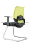 Top Grade Office Visitor Chair, Mesh Chair with Chrome Frame  KB-2017C