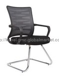 Top Grade Office Visitor Chair, Mesh Chair with Chrome Frame  KB-2022C