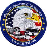 USA eagle embroidery emblem