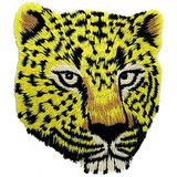 Tiger patch, animal patch, embroidery patch&badge