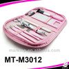 Cute 6pcs low price pink manicure set