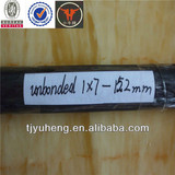 7 wires unbonded PC strand JIS