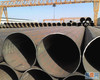 LSAW Longitudinally welded steel pipes